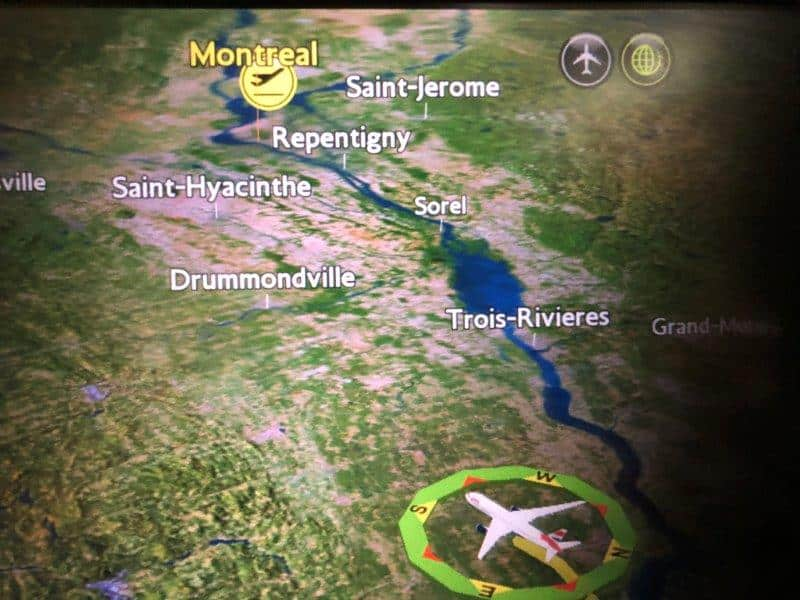 Business trip to Montreal in Canada
